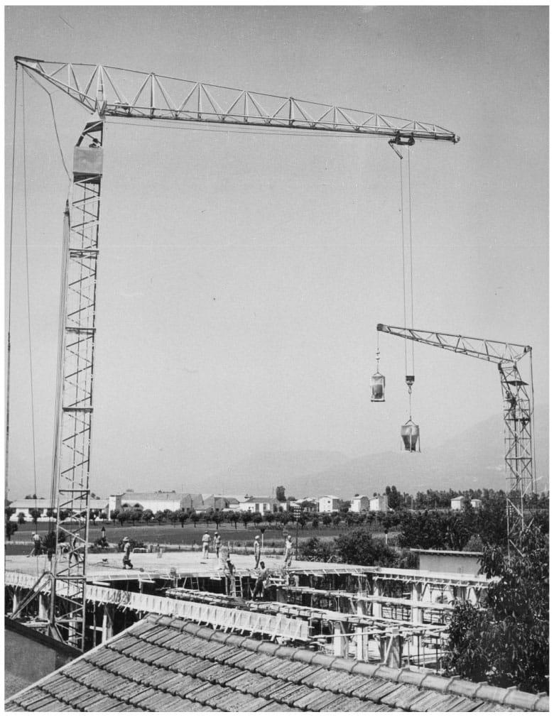 Costruzioni Edili Fratelli Lorandi Foto Storica