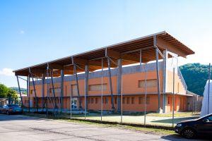 Realizzazione tribuna coperta e spogliatoi campo da calcio - Castelgomberto