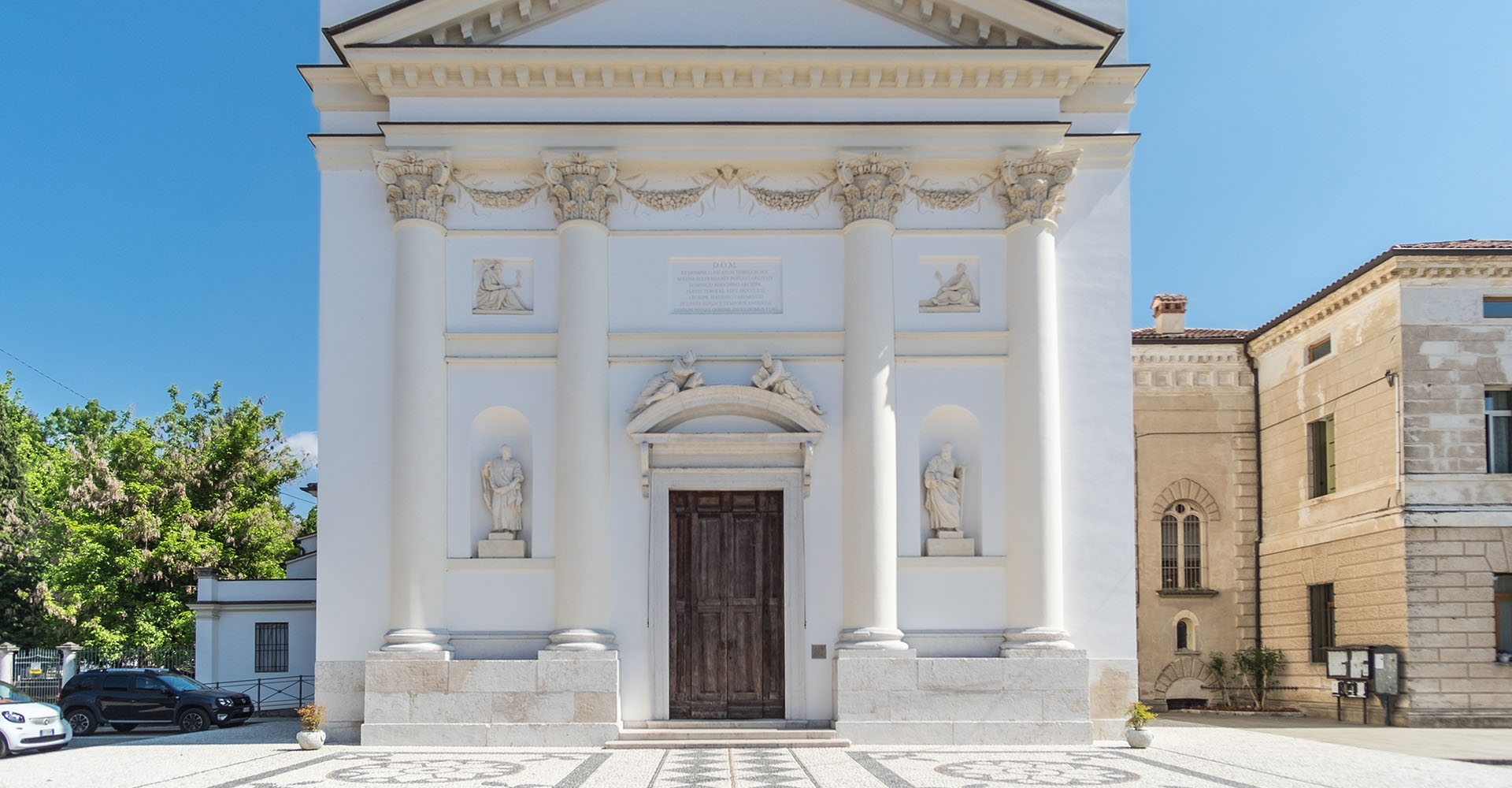 Restauro - Chiesa San Domenico Villaverla (VI)